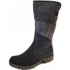 78572-14 Navy Combo Water Resistant Boot