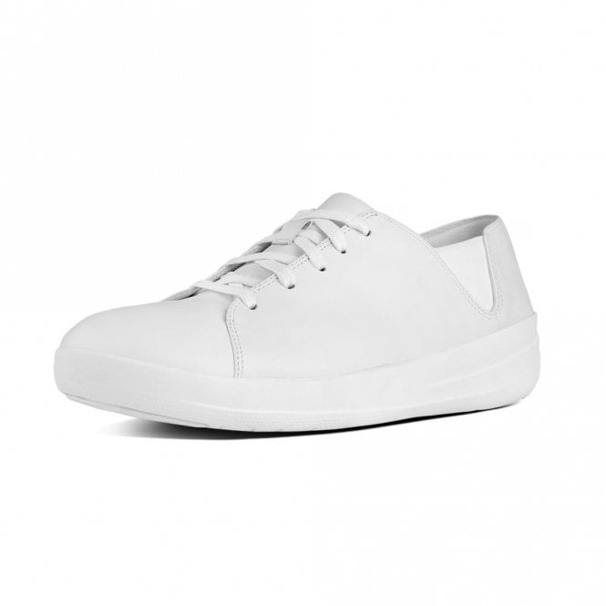 F-Sporty Leather Lace-Up Sneakers Urban