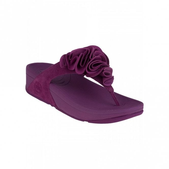 2b53e04f6d52 FitFlop Frou Cosmic Purple Suede Sandal - Ladies from Crichton Shoes UK