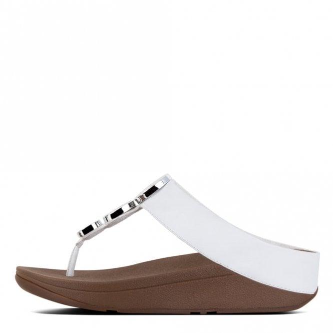 8aeff1d5881 Halo Urban White Leather Sandal