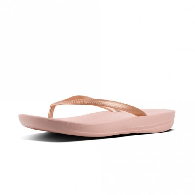 880c219d09b7 Iqushion Ergonomic Flip-Flops Nude   Rose Gold Mix Sandal