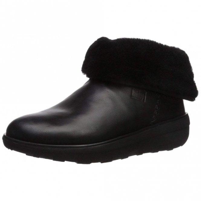 af01eb0e1b3 Mukluk Shorty 2 Black Leather Boot