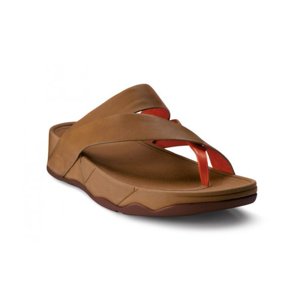 Fitflop Sling Tan Leather Sandal Ladies From Crichton