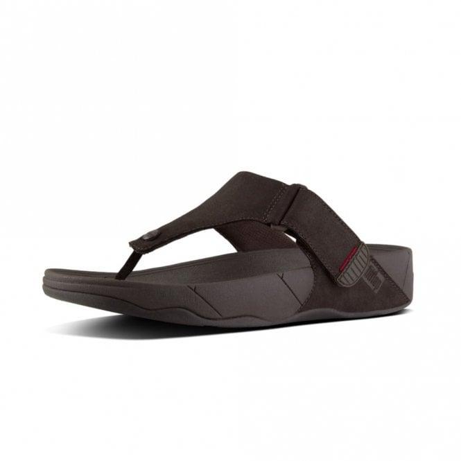 448d0053da8be Trakk II Chocolate Brown Leather Sandal