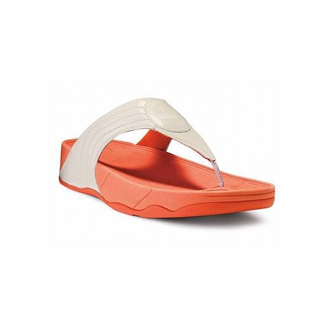 a96674b108d6d FitFlop Walkstar III Urban White Patent Sandal - Ladies from ...