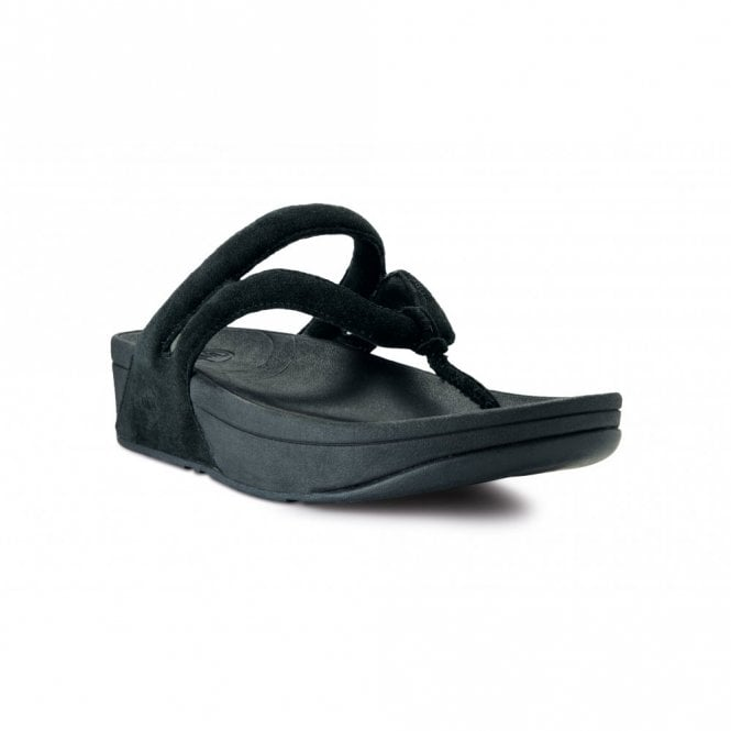 95676b9ad12d3 FitFlop Whirl Black Suede Sandal - Ladies from Crichton Shoes UK