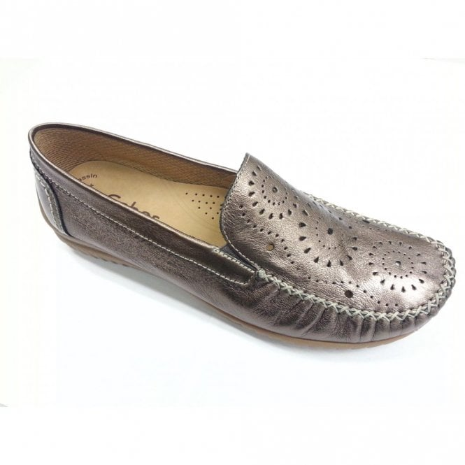 Gabor Florence 66.094.90 Pewter Leather