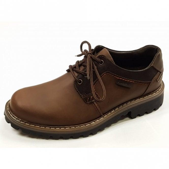 best loved c0203 b77da Josef Seibel Chance 08 Brown Waxy Leather Waterproof Shoe