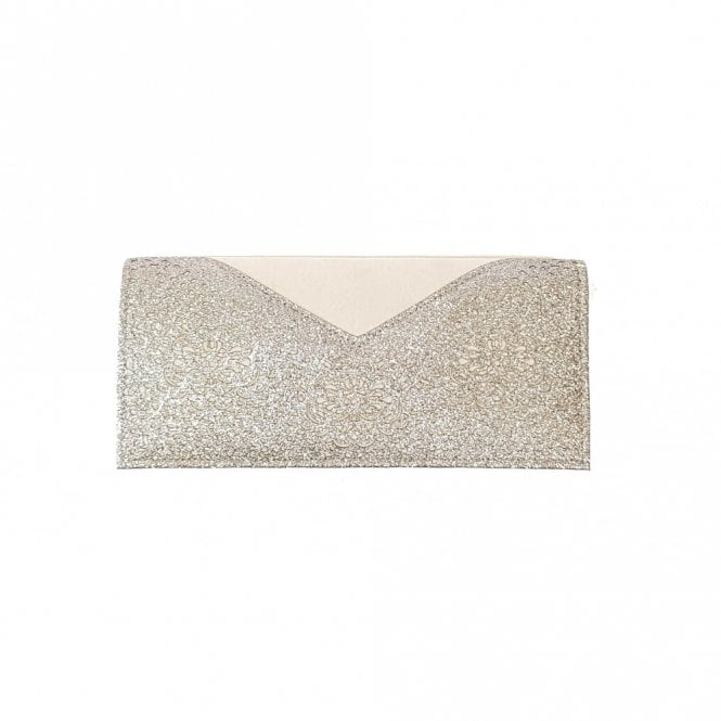 9e83623b6 Fidda Grey & Pewter Glitz Clutch Bag