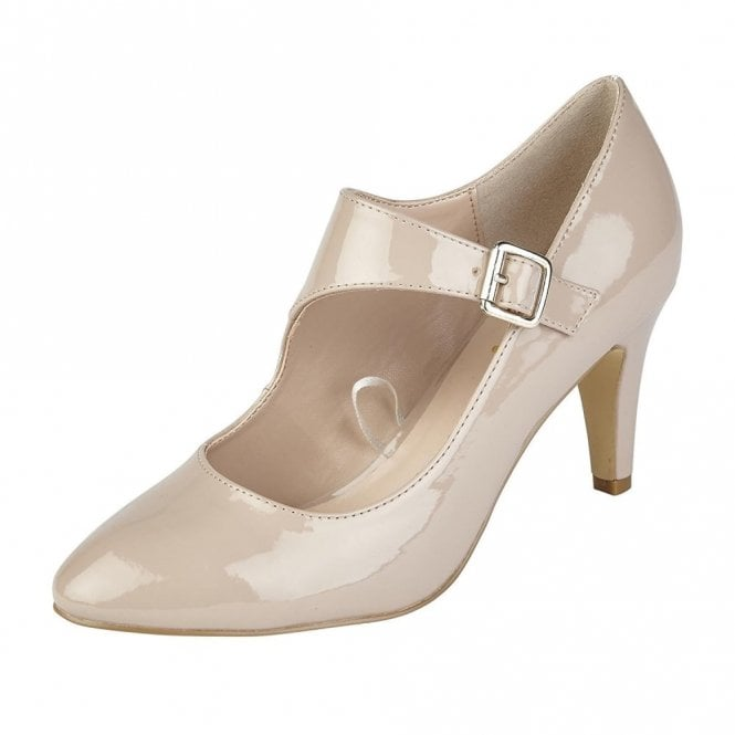 be1d6b11665 Lotus Laurana Nude Patent Court Shoe
