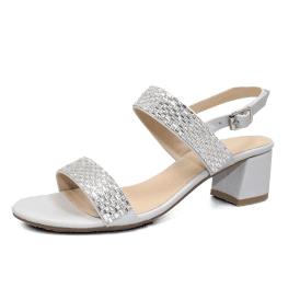6dfd2295c22 Lyon Silver Glitz Sandal with Diamante s