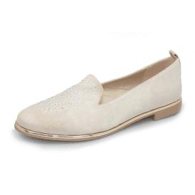 821dce34b Moldova FLM003 Beige Pump Ladies Shoe