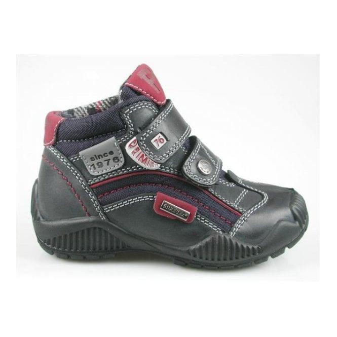 6584c7987 Primigi Blank Navy Leather Waterproof Boys Boots