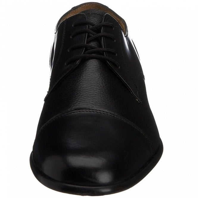 e46afc50a7b2b Rombah Wallace Farnham Black Leather Lace up Shoe - Mens from ...
