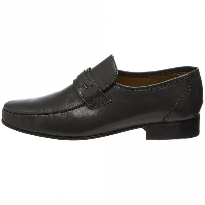 c561d1d897b06 Regent Grey Leather Slip on Shoe
