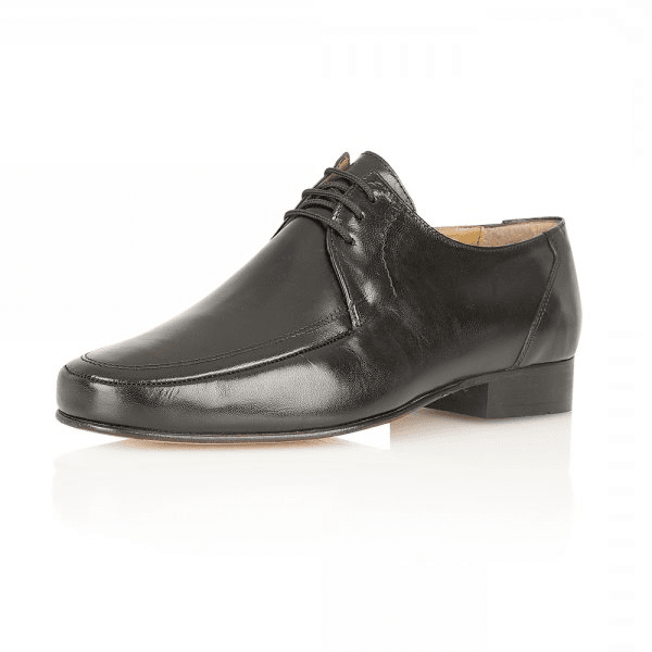 fd9a815d38138 Rombah Wallace Romsey Black Leather Lace up Shoe - Mens from ...