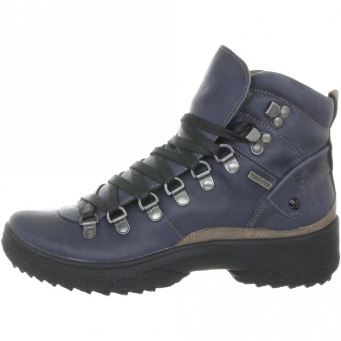 229ce6e0 Romika Spike L106 Blue Leather Waterproof Anti Slip Boot - Ladies ...