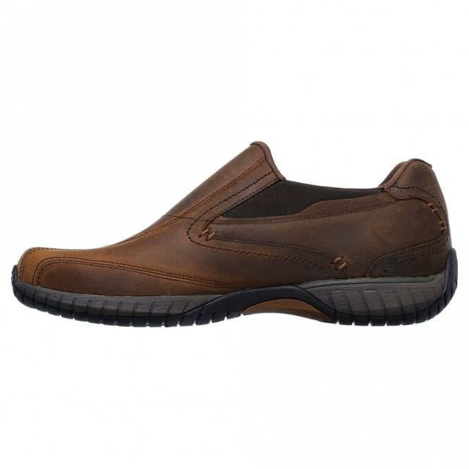 79e4af036a48 Classic Fit  Sendro - Bascom Brown Leather Shoe
