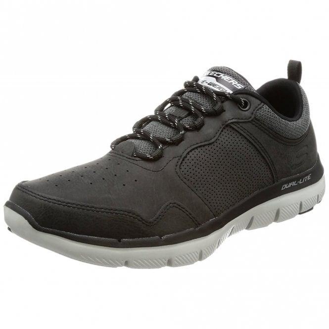 Superar profundo Factor malo  Skechers Flex Advantage 2.0 - Dali Black / Grey Mens Shoe