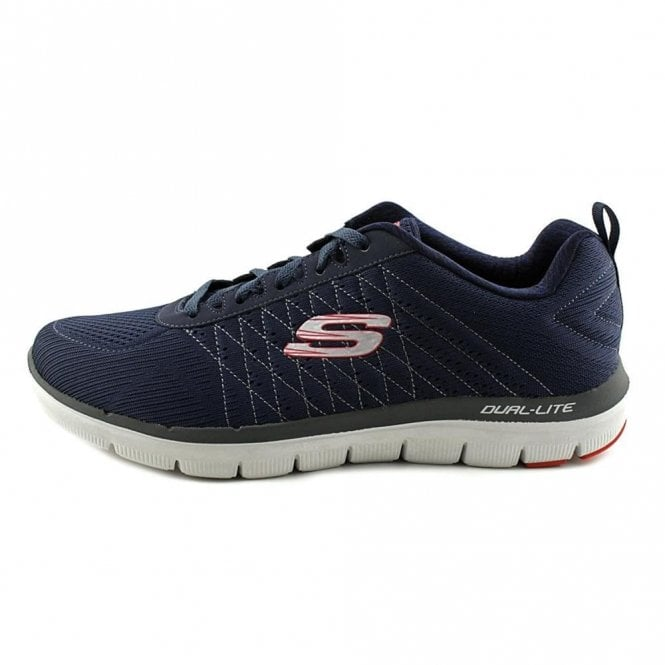 super popular 8cdc1 f28e5 Flex Advantage 2.0 - The Happs Navy shoe