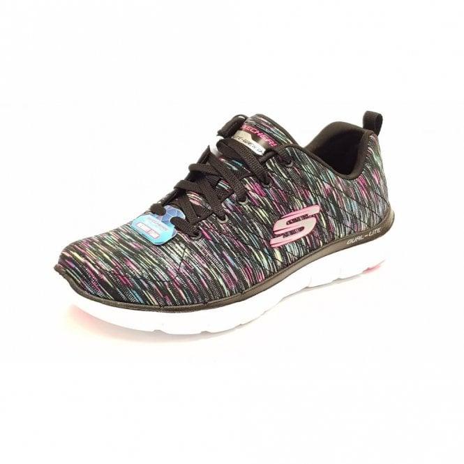 81e183c77a25 Flex Appeal 2.0 - Reflections Black   Multi Fabric Training Shoes