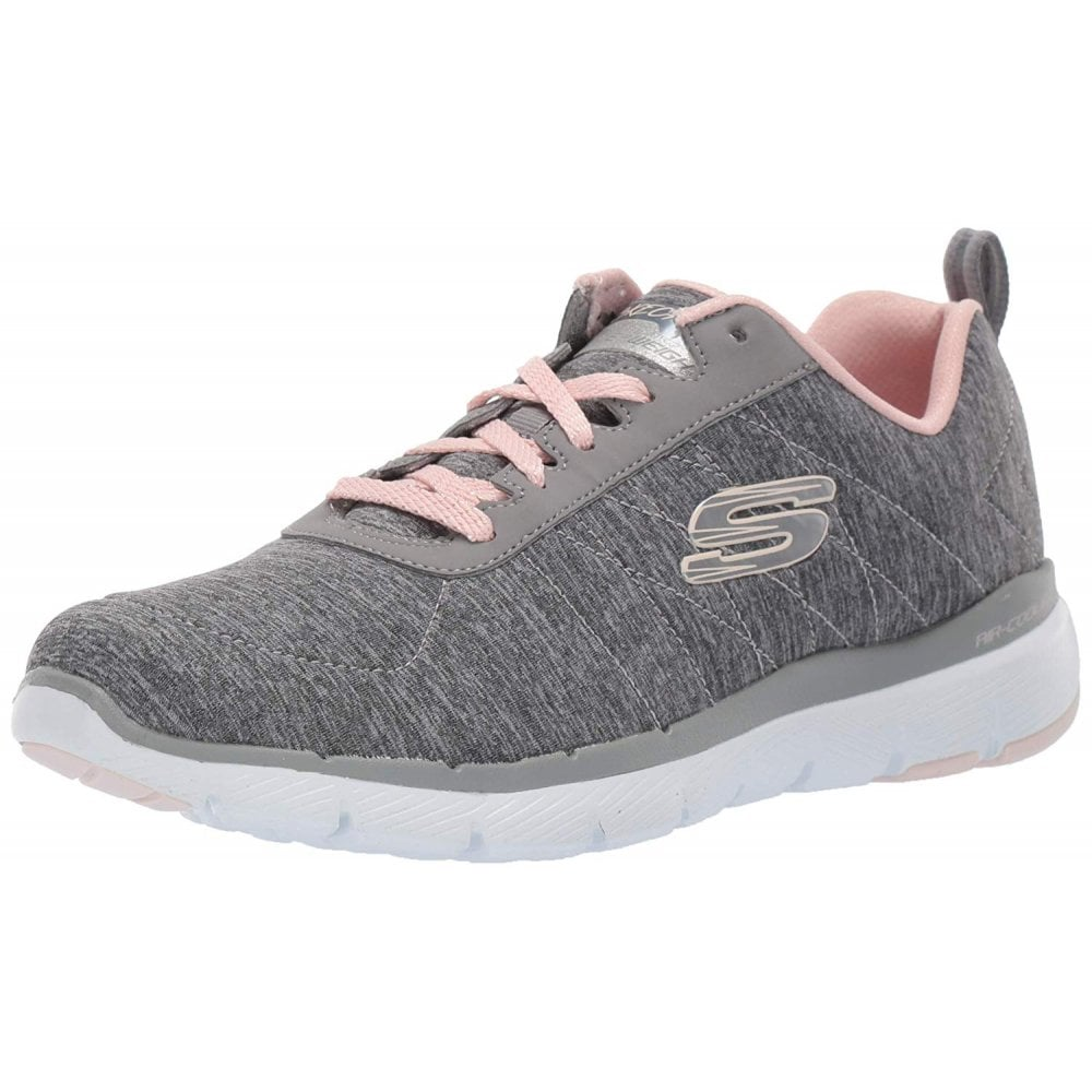 5164dc7aeea Flex Appeal 3.0 - Insiders Grey   Light Pink Ladies Trainer