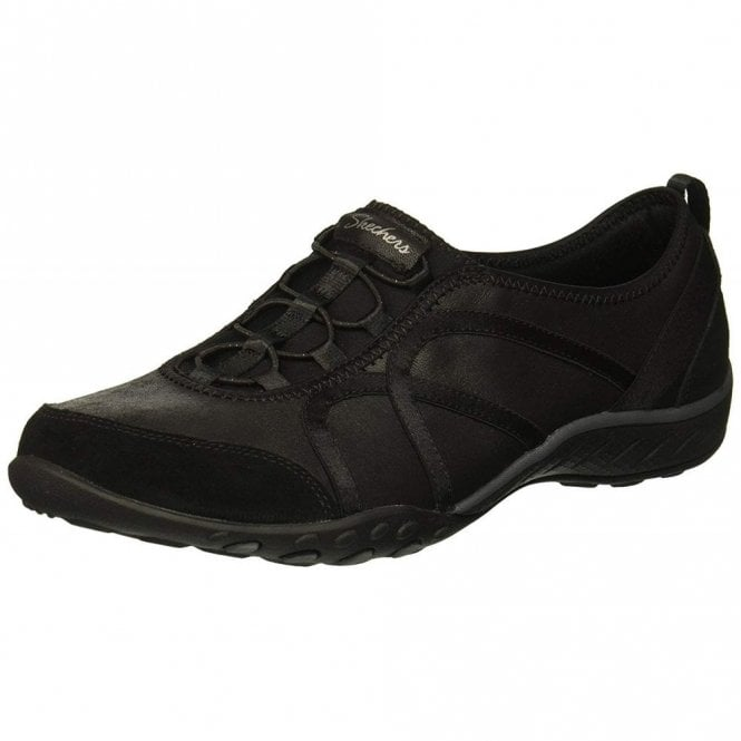 skechers relaxed fit black
