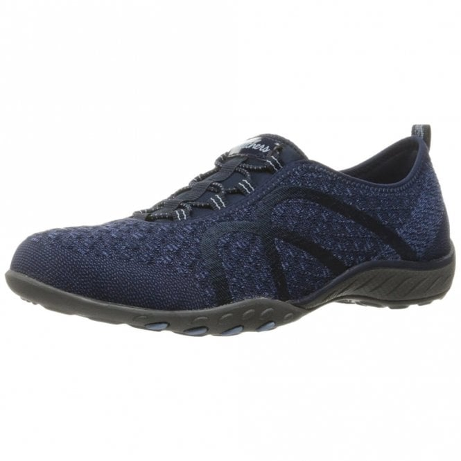 Skechers Relaxed Fit: Breathe Easy Fortune Knit Navy