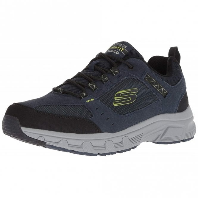 85e31b0432f Relaxed Fit  Oak Canyon Navy   Lime Mens Trainer