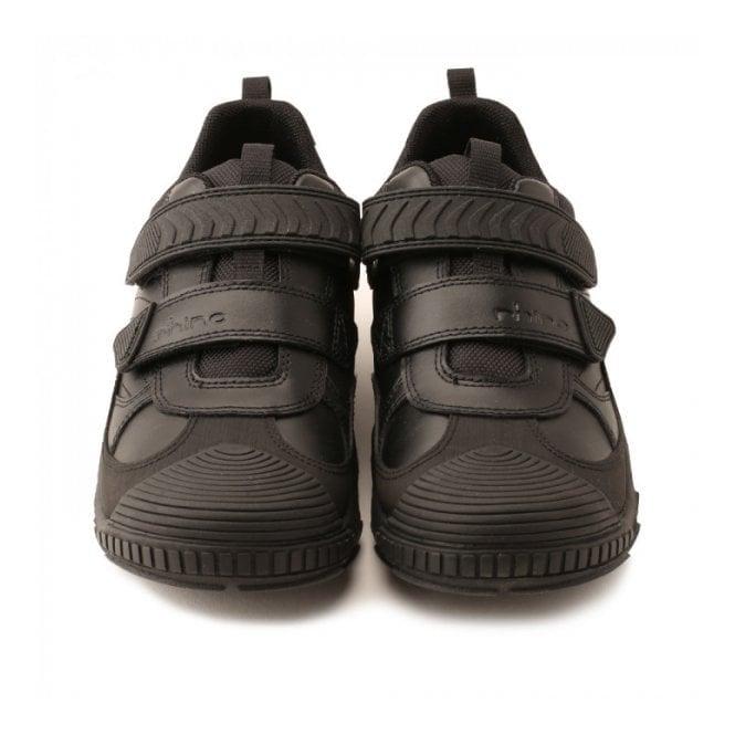 Extreme Pre Black Leather Boys Shoe