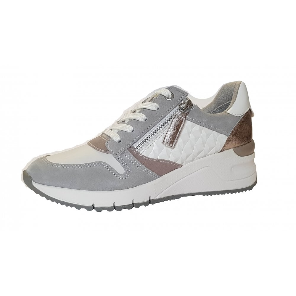 23702-24 White / Grey Combo Casual