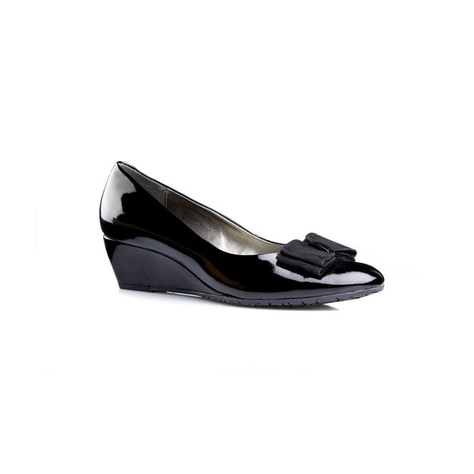 3c4598c3c0 Van Dal Lille II Black Patent Wedge Shoe - Ladies from Crichton Shoes UK