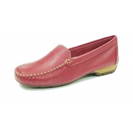dab1cd9435a60 Sanson Sangria Leather Loafer Moccasin Shoe. Van Dal ...