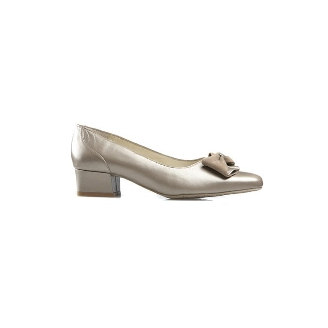 d2156d0f Van Dal Tacoma Taupe Pearlised Leather Court Shoe - Ladies from ...