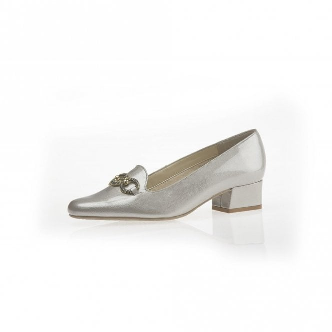 00799329 Twilight Champagne Feature Patent Court Shoe